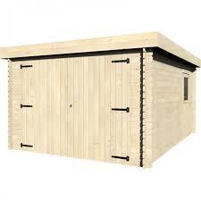 porta box auto garage in legno galan 349x481 cm