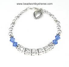 beaded name bracelets mothers bracelet s name bracelet beaded mothers bracelet