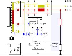 component ac voltage regulator circuit diagram generator power