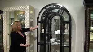 Contemporary Curio Cabinets Black Granite Curio Cabinet By Pulaski Furniture Youtube