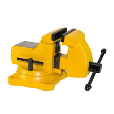 capri tools ultimate grip 6 in forged steel bench vise cp10516