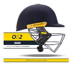 new design helmet for cricket masuri os2 cricket helmet cricketgearreview