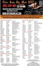 Map Of Outer Banks Nc Bike Week Outer Banks Harley Davidson Harbinger North Carolina