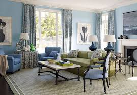 light blue and brown living room decor color ideas beautiful under