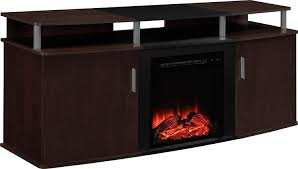 amazon com altra furniture carson fireplace tv console 70