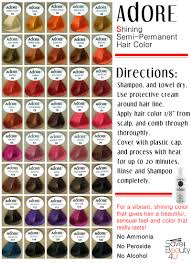 Best Temporary Hair Color For Dark Hair Updated Directions Hair Colour Chart Get Your Hairdye Here Http