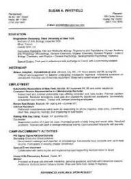 Resume Examples Education Section by How To Write Your Resume Education Section On Resumes Simple