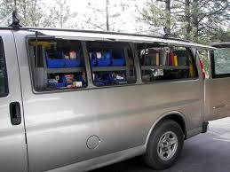 Cargo Van Shelves by The Benefits Of A Work Van Thisiscarpentry