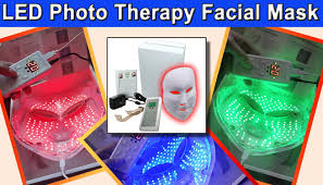 blue and red light therapy for acne reviews pro nu photon 3 in 1 red blue green led photo rejuvenation light