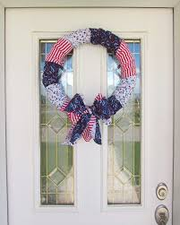 create kids couture no sew shabby chic fabric wreath