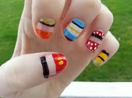 hey nice tips disney character nails
