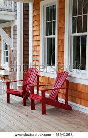 wood adirondack chairs stock images royalty free images u0026 vectors