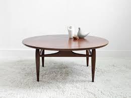 mid century round coffee table stunning mid century modern coffee table round design ideas mid