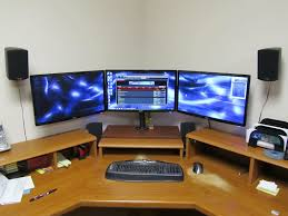 wow diy triple monitor stand my take on it h ard forum i