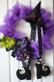 Halloween Tulle Wreath by Coronas De Miedo Para Tu Puerta Wreaths Halloween 2017 And