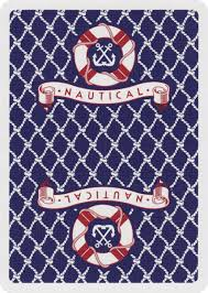 nautical cards of play