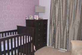 Purple Accent Wall baby nursery accent wall decorations for baby room with murals