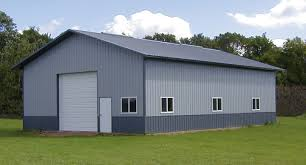 How To Build A Wood Floor With Pole Barn Construction by How To Decide Between A Steel Building And A Pole Barn