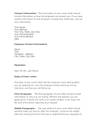 cover letter contact information choice image cover letter sample
