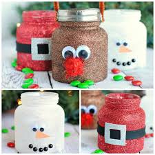 diy christmas glitter jars they are made with baby food jars