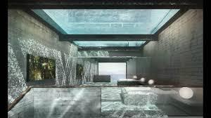 Futuristic Home Interior Decor Futuristic Homes With Under Room And Balcony For Decor Idea