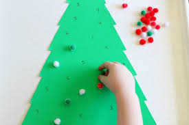 christmas tree number matching game