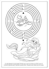 8 dessins de coloriage princesse ariel à imprimer