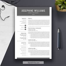 Education Resume Template Word Modern Resume Template Cv Template Word Cover Letter