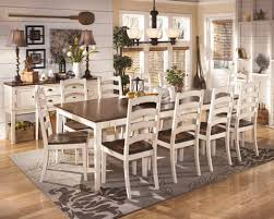 Whitesburg Vintage Casual  Pcs Dining Room Set W Rect EXT Table - Casual dining room set