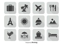travel icons images Travel icon set download free vector art stock graphics images jpg