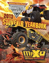 monster truck jam 2013 monster jam yearbooks brian z patton
