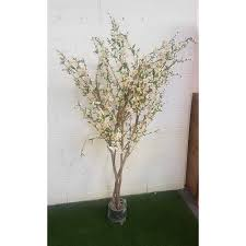 4 ft cherry blossom artificial tree white
