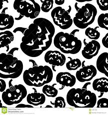 seamless pattern with jack o lantern halloween pu royalty free