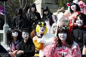 harajuku halloween costume japanese shironuri