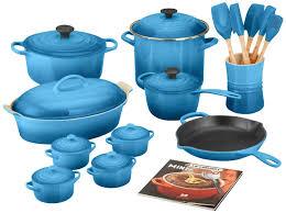 Creuset Pot Top 5 Le Creuset Mm14am24 59 24 Piece Cookware Set Marseille