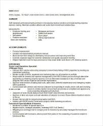 Quality Control Specialist Resume Banking Resume Samples 45 Free Word Pdf Documents Download