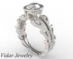 oval cut diamond unique oval diamond engagement ring custom jewelry vidar