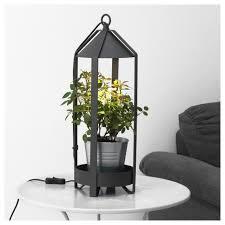 Wohnzimmer Osnabr K Krydda Pflanzenhalter Led Pflanzenlampe Ikea