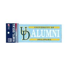 alumni decal of delaware alumni decal national 5 and 10