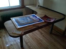 Wood L Shaped Desk Wood L Desks Wood L Shaped Desk Blueprints Wood Desks Made In Usa