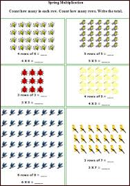 spring math worksheets free printable spring math lesson plans