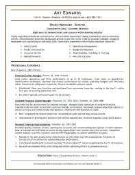 sample bank manager resume bank manager resume sample in bank
