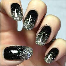 silver and gold glitter u2013 challenge your nail art model city polish