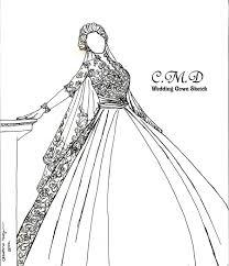 my wedding gown sketch collection by tinjosh on deviantart