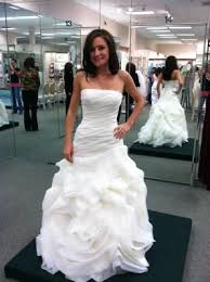 vera wang white collection organza trumpet gown vw351011 wedding