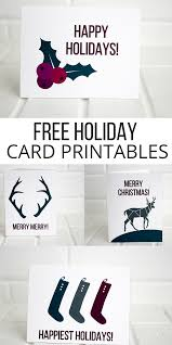holiday printable cards free pretty providence