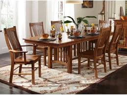 mission dining room set set of six mission dining room chairs by previousnext