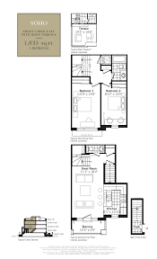 Typical Brownstone Floor Plan Grand Cornell Brownstones Phase 2