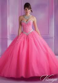 quinsea era dresses beading on a tulle quinceañera gown style 60014 morilee