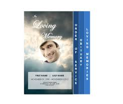 printable funeral programs 4 page graduated outdoor 3 program funeral phlets